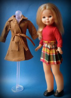 """Nancy"" American Girl Clothes, Girl Doll Clothes, Bratz, Nancy Doll, Wellie Wishers, Little Doll, Old Toys, Girl Outfits, Barbie"