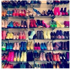 Wish i had all those shoes!!