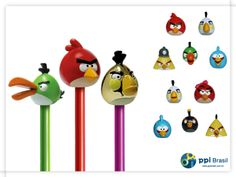 pencil topper Angry Birds - Panini (2012)