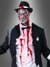 Zombie 20er Jahre Gangster Mafia Kostüm