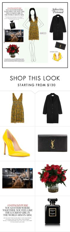 """Personal Style - Dinner"" by marystique ❤ liked on Polyvore featuring Étoile Isabel Marant, Acne Studios, Stuart Weitzman, Yves Saint Laurent, Kate Spade, Chanel, Dinner and personalstyle"