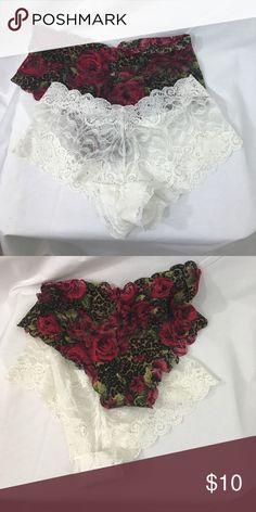 Victoria Secrets Lace Boy Shorts S EUC. Size Small Victoria's Secret Intimates & Sleepwear Panties