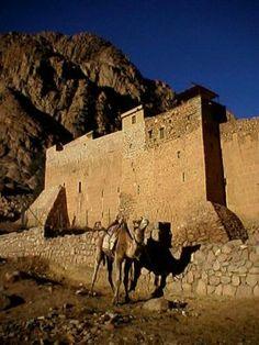 Monastery of St. Catherine, Mount Sinai,  Southern EGYPT..