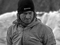 Having started climbing as a young scout in Derbyshire to gain his 'Mountaineering' badge, he has since moved onto bigger peaks in Scotland, the Alps and then the Himalayas, including an ascent of Khan Tengri (6,995m) in Kazakhstan in 1999, two trips to Alaska with Malcolm Bass including the 1st ascent of 'The Prey' on the East face of Mt Hunter in 2001.