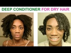 DIY - Deep Conditioning Treatment For Dry Damaged Hair - alopeciafreewithjass - YouTube