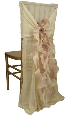Chair Cover by Wildflower Linen