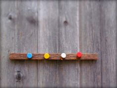 four corners wall hook by IvyAxe on Etsy, $24.50