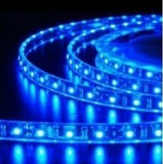 Innoo Tech**Waterproof Flexible Light Strip 300 SMD Blue LED Ribbon 5 Meter or 16 Feet by Innoo Tech. $12.69. Superbright 3528 SMD Blue LED, high intensity and reliability. Self-adhesive backing with double-sides adhesive tape. Life span more than 50000 hours. Waterproof  flexible LED strip. Widely used for home decoration use, hotels, clubs, shopping malls and other architectural decorative use. Specifications:  * Color: Blue  * LED Type: 3528 SMD LED (Waterproof)  * LED Quan...