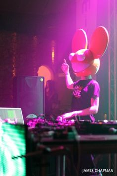 Love, Love, Love Deadmau5. He wakes me up, keeps me going through my workouts, and makes me dance! Hope to see him live in the US!