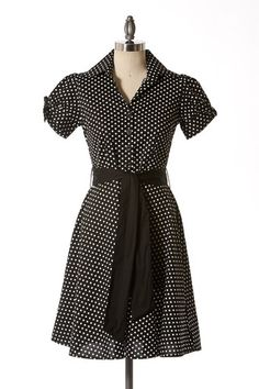 Polka Dot Delight Dress | Tailor and Stylist