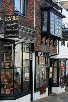 Antiquarian & Second Hand Books, Rye, East Sussex