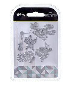 Another great find on #zulily! Disney Princess Ariel Embellishment Die Set #zulilyfinds