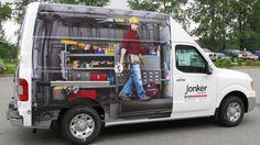 creative vehicle branding -