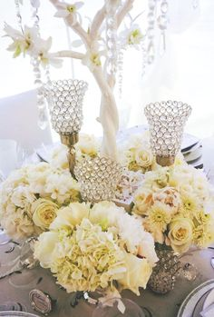 martini centerpieces | New Centerpiece Ideas