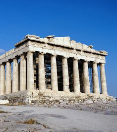 Le Temple d'Artémis, l'une des 7 merveilles du monde antique