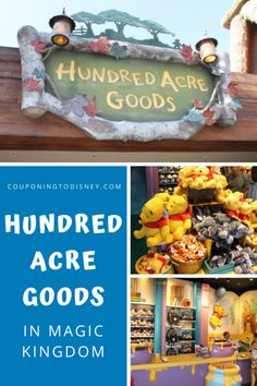 Hundred Acre Goods in Magic Kingdom Disney World Souvenirs, Disney World Parks, Disney World Planning, Walt Disney World Vacations, Cruise Vacation, Disney Cruise, Disney Tickets, Disney World Magic Kingdom, Disney World Tips And Tricks