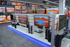 Elektronikfachmärkte am POS Pos, Stores, Architecture, Flat Screen, Electronics, Design, Arquitetura, Flatscreen, Architecture Design