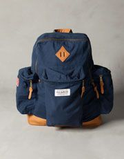 Pull and Bear Mountain Bag Navy Backpack