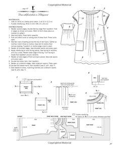 Stylish Dress Book: Wear with Freedom Stylish Dress Book, Stylish Dresses, Sewing Clothes, Diy Clothes, Japanese Sewing Patterns, Tent Dress, Apron Dress, Dress Making Patterns, Couture Sewing