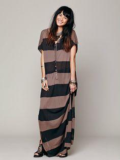 Free People Marrakesh Stripe Dress, $49.95