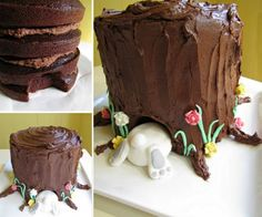 The Perfect DIY Birds Nest Cake