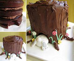Tree-Stump-Bunny-Cake-wonderfuldiy