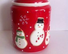 cookie jars on Etsy, a global handmade and vintage marketplace.