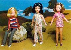Sindy doll from 1971 - mine was the one with the striped sweater.