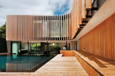 external timber louvres - Google Search