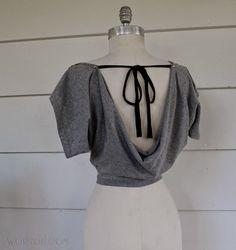 WobiSobi: T-Shirt Bolero DIY
