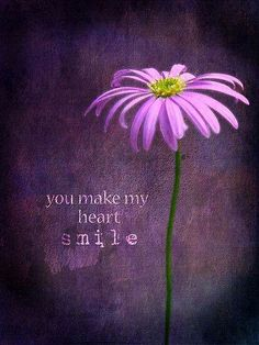 you make my heart smile - purplehaze