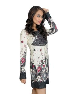 dc8611bd8d4c Kurtas are flattering for broad shouldered women. Kurtas with detailing  around the sleeve and hem add weight to the lower body.