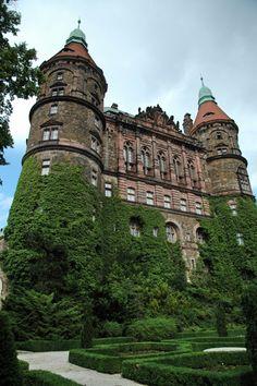 Zamek Ksiaz in Walbrzych, Poland | Zamek Książ w Wałbrzychu (woj. dolnośląskie)