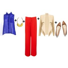 color blocked - outfits for work