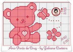 Urso - Ponto Cruz - Fabiane Costeira