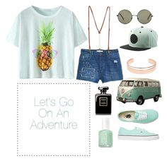 """""""❤️ Explore ❤️"""" by sukhaulakh on Polyvore featuring Forever 21, Neff, Leith, Vans and MANGO"""