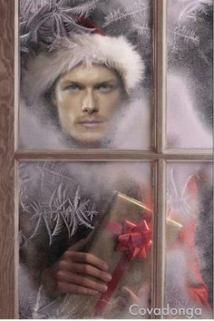 A Jamie Fraser Christmas gift from Starz... an all day Outlander marathon on the 25th!!!!