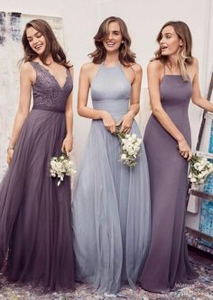 Watter Bridesmaid Dresses Collection | Deer Pearl Flowers