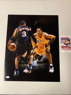 Newspaper Frame, Robert E Lee, Allen Iverson, Sport Icon, Photo Black, Kobe Bryant, Blue Suede, Etsy, Icons