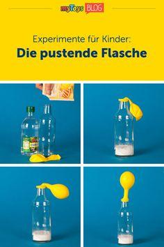 Unser Kinderexperiment ist etwas für kleine Forscher & eure Kleinen werden große Augen machen! Mit diesem Luftexperiment könnt Ihr Euren Kindern zeigen, dass Luft Platz braucht & dass man als Mini-Chemiker sogar mit gefährlichen Gasen kontrolliert umgehen kann. Das aufregende Experiment für Kinder macht schnell aus einer Küche ein Chemie Labor & ihr braucht nur eine Flasche, Essig, Backpulver & einen Luftballon. Ideal um euren Kindern zu Hause etwas Abwechslung zu beschaffen…