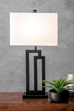 Rugs USA Black Angstrom Metal Modern Tripod Table Lamp lighting - Contemporary H x W x D Black Table Lamps, Black Lamps, Torchiere Lamp, Tripod Table Lamp, Rustic Lamps, Rugs Usa, Bedroom Lamps, Lamp Design, Home Lighting