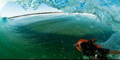 Bodyboard, wave, barrel