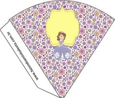 cone Princesinha Sofia da Disney