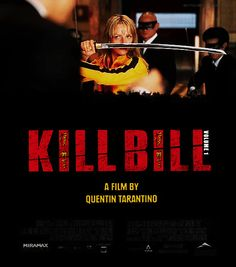 Movie Posters Improved With Animation: Kill Bill (I love the song that plays in this scene...rockin' out to some gooood slayin'.)