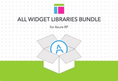 Axure Widget Library Bundle by Axemplate on @creativemarket