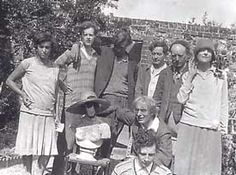 The Bloomsbury Group. Comprised of Artists, Writers, Economists, Art Critics. A group of English intellectuals active from the early 1900's until the 1930's
