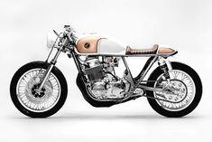 "PRECIOUS MENTAL. The ""Goldenrod"" Honda CB750 from Steel Bent Customs - Pipeburn.com"