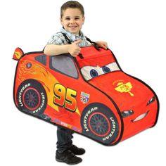 disney pixar cars lightning mcqueen pop up tent mini driver costume