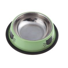 Acquista la simpaticissima ciotola per gatto, in acciaio inossidabile, moderna, colorata, con disegno stilizzato a forma di gattino! #ciotola #moderna #gatto #gatti #gatino http://www.principini.it/prodotti/gatti/ciotole-e-sottociotole-per-gatti/ciotola-acciaio-inox-per-gatto
