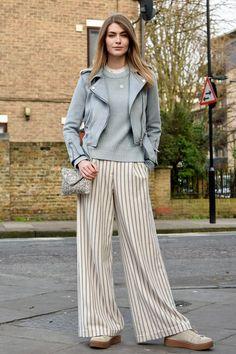 ロンドンからお届け 春目前カジュアルに纏いたいパンツスタイル